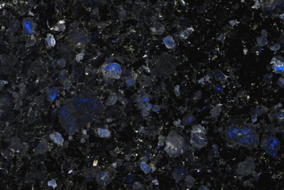 Volga blue granite countertop pictures